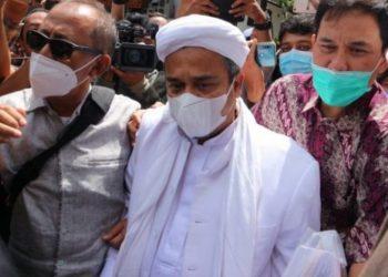 Rizieq Shihab datangi Polda Metro Jaya